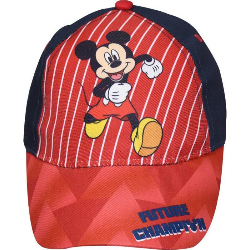 Παιδικό καπέλο τζόκεϋ Mickey Mouse