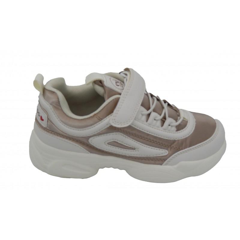 Exe Kids Sneaker Μπεζ-Λευκό MA32R067265SS14