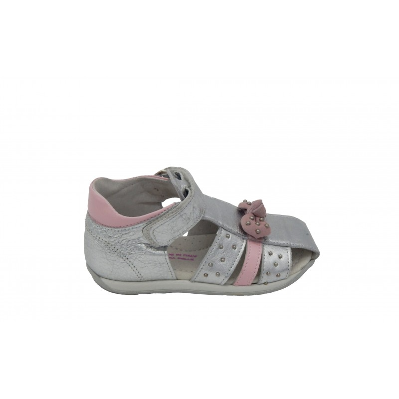 Eb Shoes Πέδιλο Ασημί