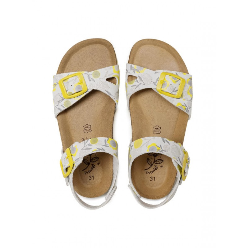 Primigi Πέδιλο Κορίτσι Λευκό Κίτρινο 7429144