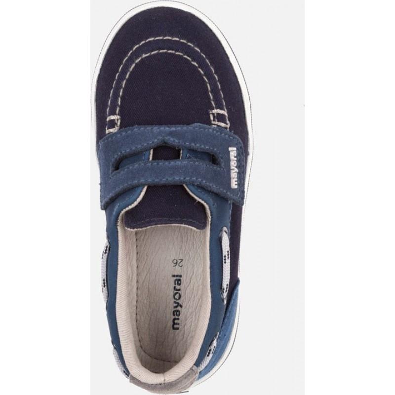 Mayoral Παπούτσια με σκρατς ναυτικό μπλε 43077-68