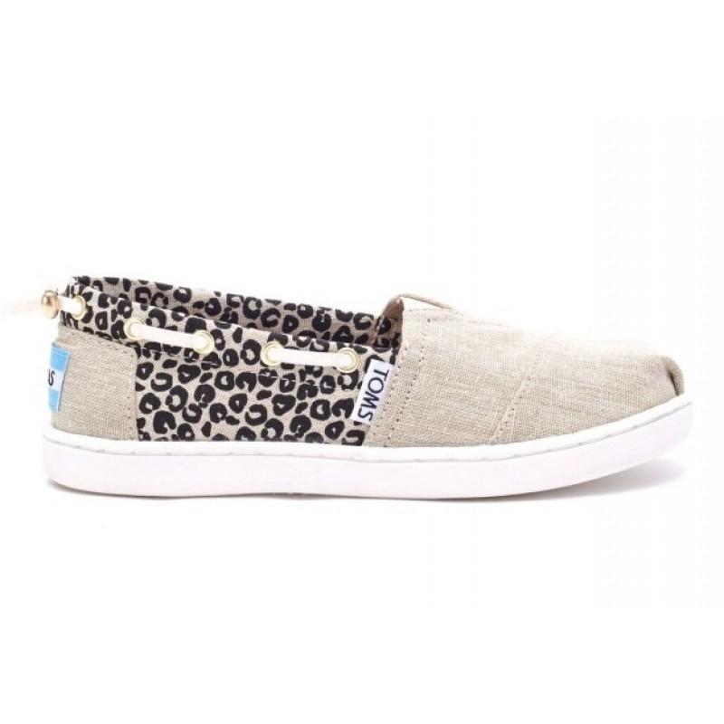 Toms Bimini Cheetah Metalic Linen 10007508