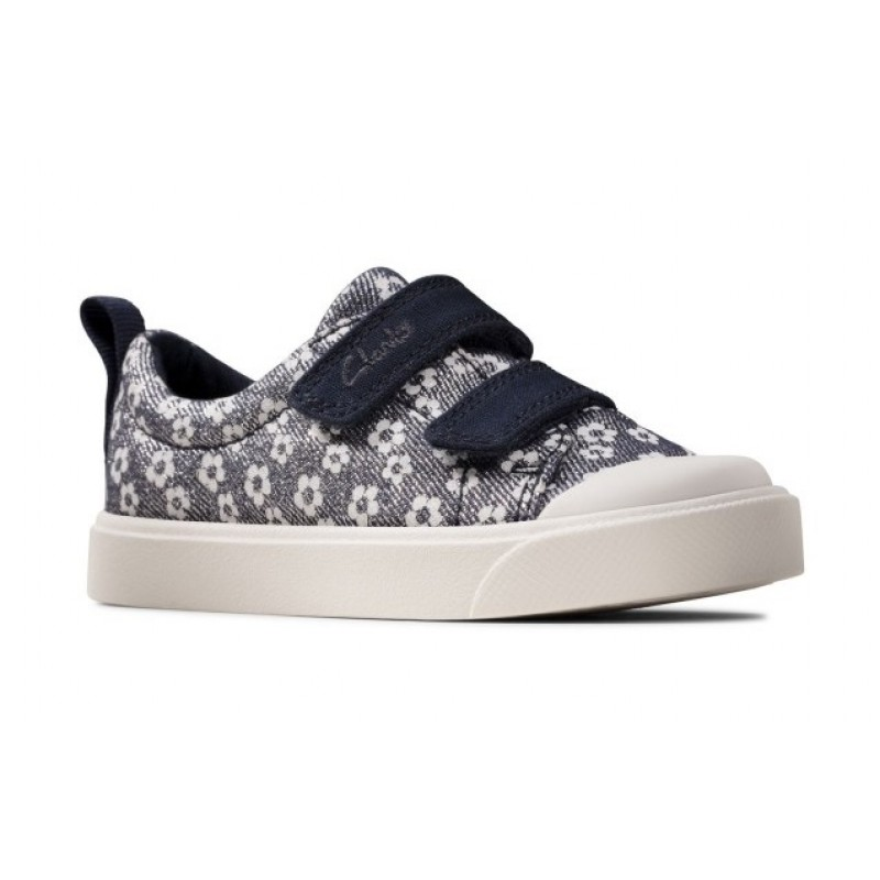 Clarks  City Bright T Navy Floral 26149088