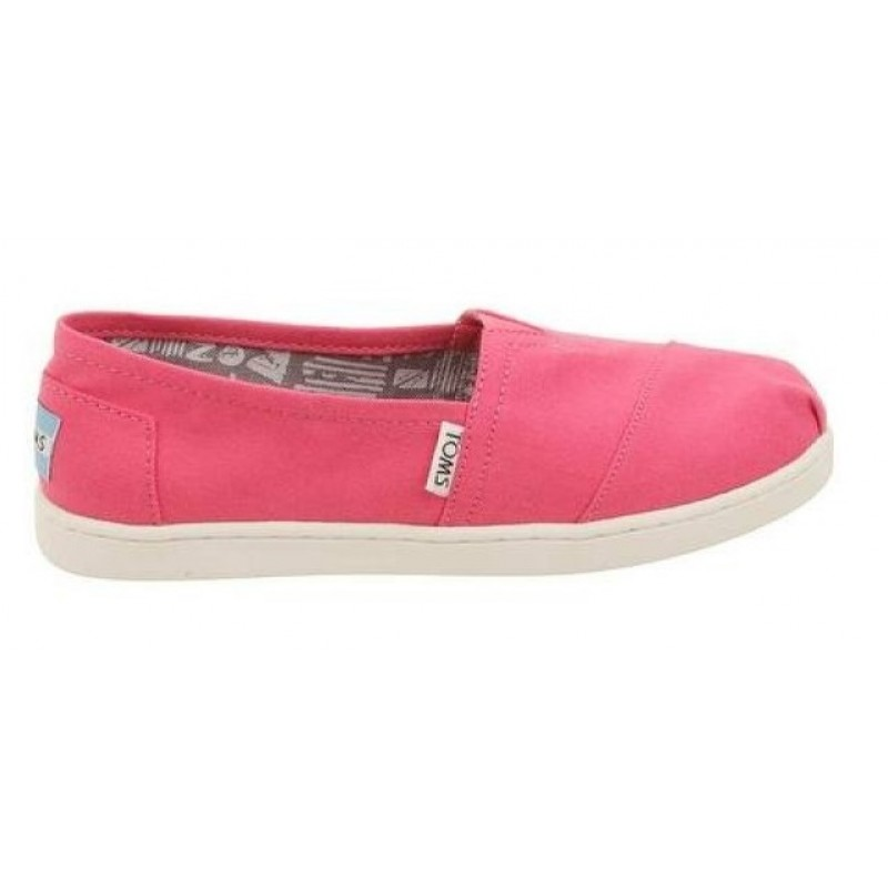 Toms Classic  Barberry Pink Canvas 10007400