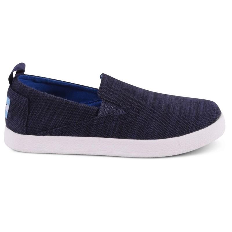 Toms Avalon Navy Slubby Cotton 10009971 Μπλε