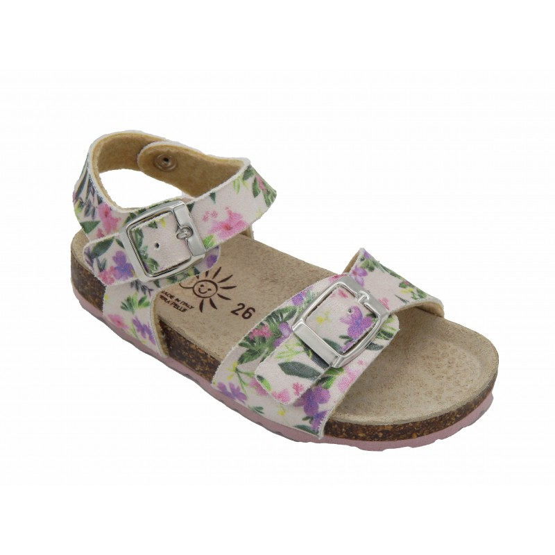 Eb Shoes Πέδιλα Φλοράλ Kloramet