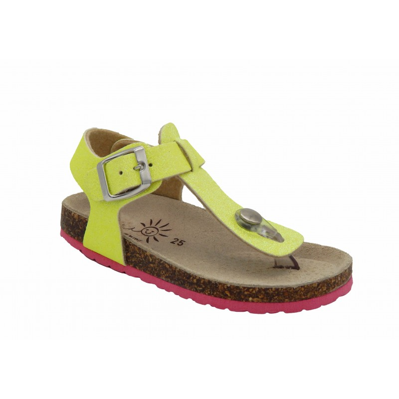 Eb Shoes Πέδιλα Bright Fluo