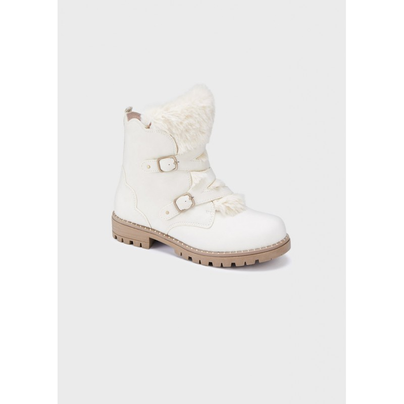 Mayoral Boots Girl With Detachable Fur 44235-044