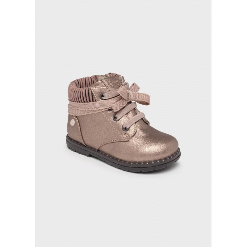Mayoral Metallic Boot Baby Girl 42224-074