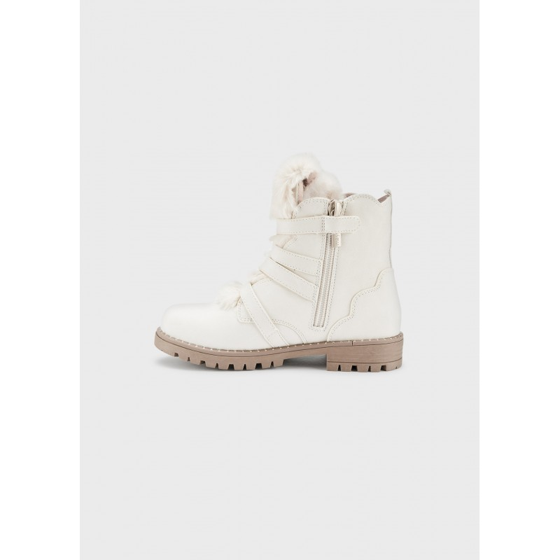Mayoral Boots Girl With Detachable Fur 46235-044